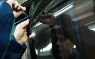 Ремонт стекол автомобиля своими руками видео