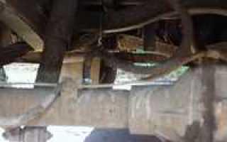 Сапун заднего моста уаз