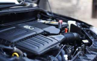Характеристики двигателя по пробегу