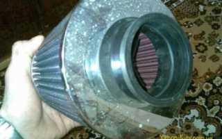 Фильтр нулевого сопротивления промывка