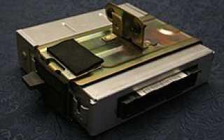 Блок управления двигателем характеристики