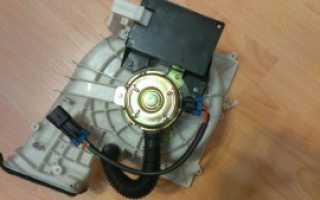 Снятие вентилятора печки ваз 2110