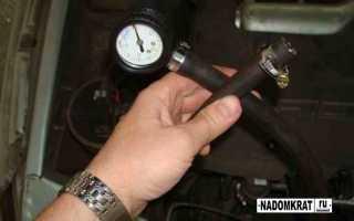 Замер давления в топливной рампе ваз 2114