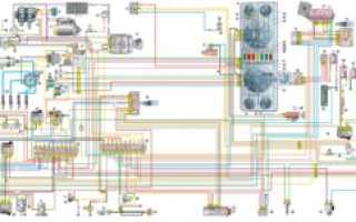 Электрическая схема газель 3302