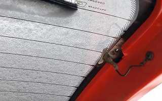 Как восстановить нить обогрева заднего стекла автомобиля