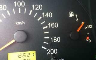 Как проверить указатель уровня топлива