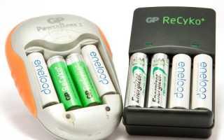 Сколько по времени заряжать батарейки