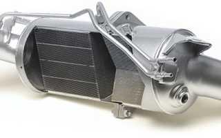 Чем промыть сажевый фильтр дизельного двигателя