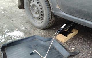 Замена задних тормозных колодок логан своими руками