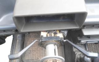Распиновка подрулевого переключателя ваз 2109