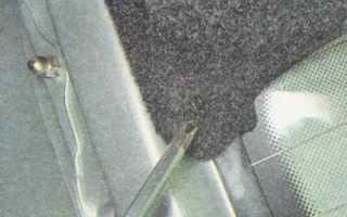 Регулировка крышки багажника ваз 2112