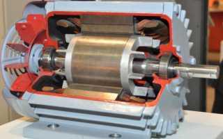 Электрические схемы включения однофазных асинхронных двигателей