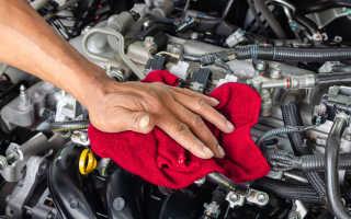 Чем мыть поддон двигателя