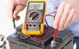 Сила пускового тока аккумулятора