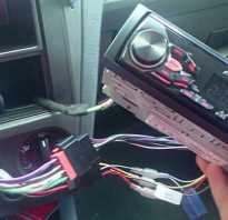 Автомагнитола пионер подключение проводов