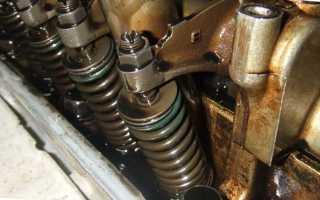 Цокают клапана на холодном двигателе