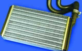 Замена радиатора печки ваз 21099 высокая панель