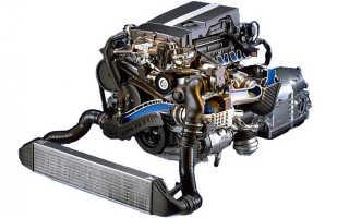 Mercedes лучший атмосферный двигатель