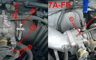 Шланг клапана холостого хода двигатель за