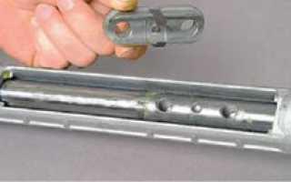 Рулевая рейка калины схема