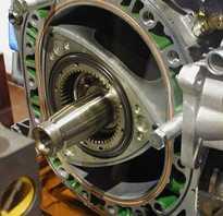 Что такое двигатель роторного типа