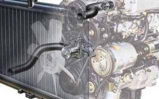 Циркуляция ож в системе охлаждения автомобиля