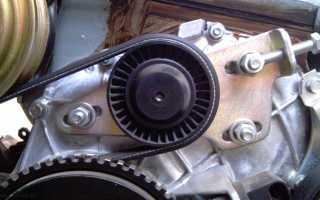 Ремень генератора нива шевроле без кондиционера размер