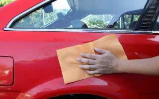 Как заделать мелкие царапины на кузове автомобиля
