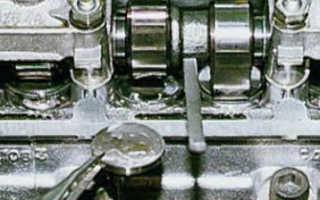 Регулировка клапанов ваз 2109 инжектор цена
