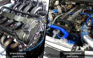 Что такое атмосферный двигатель на машине