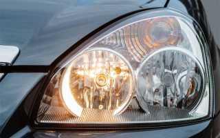 Приора замена лампы габаритов