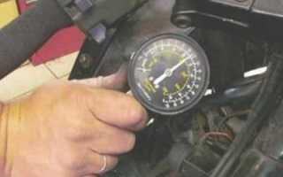 Нормальная компрессия двигателя ваз 2109