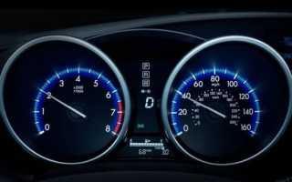 Число оборотов двигателя норма