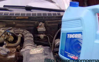 Тосол или антифриз что залить в двигатель