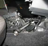 Блокировка автоматической коробки передач