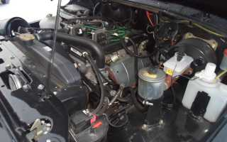 Мощность 409 двигателя уаз