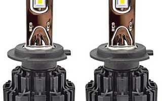 Светодиодные лампочки для приоры