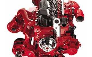 Характеристика дизельного двигателя cummins