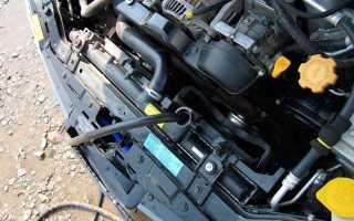 Промывочная жидкость для системы охлаждения двигателя