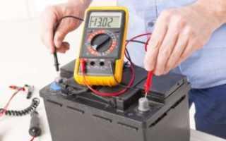 Процесс зарядки аккумулятора автомобиля