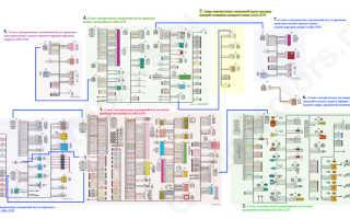 Схема проводки приора люкс