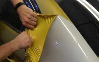 Как снять рекламную пленку с автомобиля